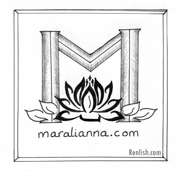 Maralianna.com, Collaborative Logo Design - renlish.com
