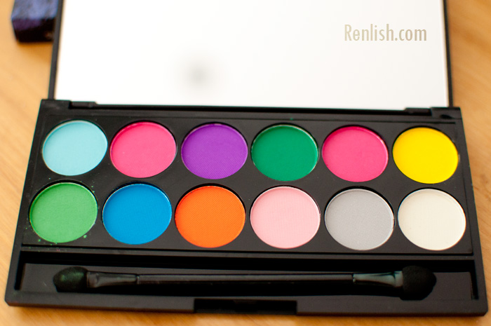 Sleek Cosmetics, Ultra Matte Brights Palette - Renlish.com