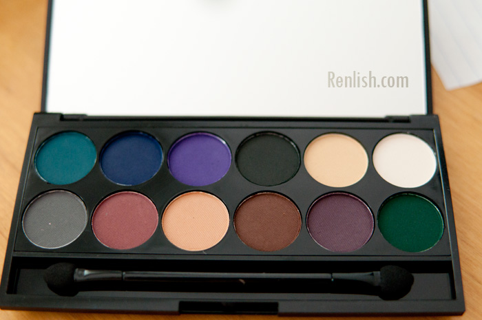 Sleek Cosmetics, Ultra Matte Palettes, Dark - Renlish.com