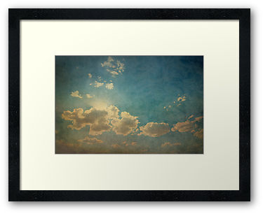 Big Sky, mounted/framed print - Renlish.com