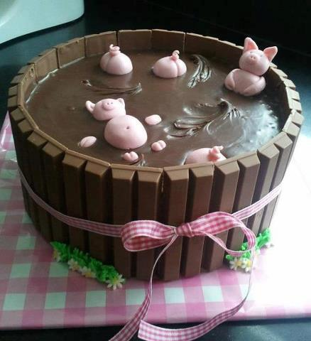 Renlish.com - Pigs in Mud Cake, Pintester Movement