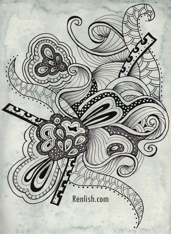 Renlish.com - Doodle Drawing #2