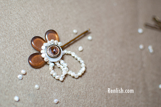 Renlish.com - The Pintester Movement V2. Button Bobby Pins