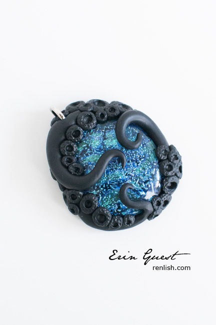 Renlish.com - Polymer Clay - Tentacle-y Thing!