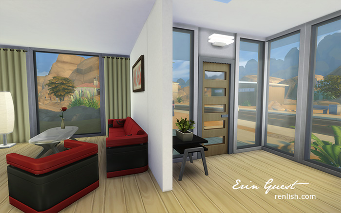 Renlish.com - The Sims4 - House Build - Desert Condo