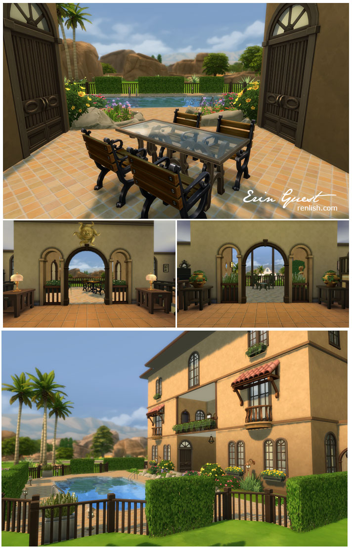 Renlish.com - The Sims 4 - Casa del Vinoduo