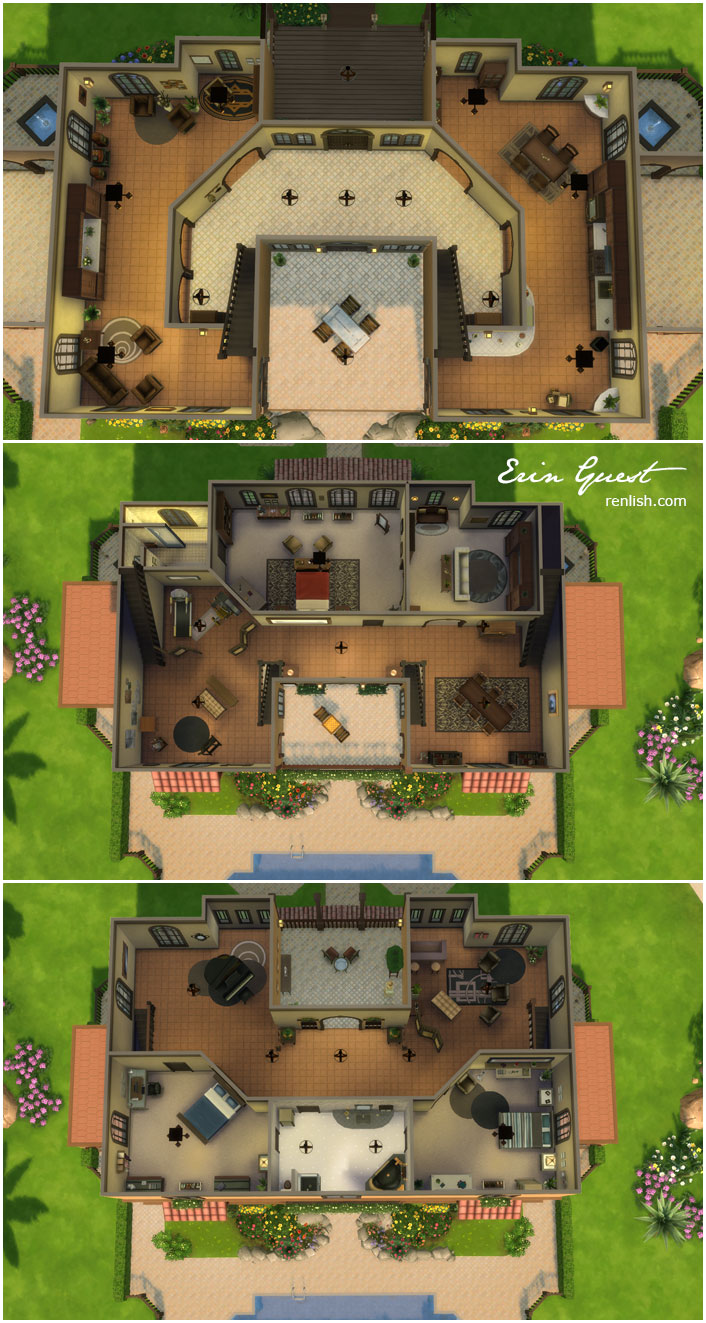 The sims floor plans for Sims 2 floor plans